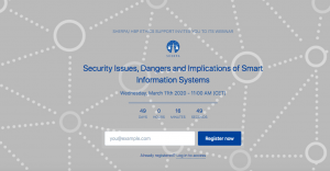 Next SHERPA Webinar to discuss Cybersecurity matters of AI systems