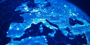 Global Communication And Technology (World Map Credits To NASA)